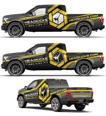 Bold Truck Wrap For Head Kicks Fitness | 99designs | Car Wrap ... Commercial Truck Wraps At The Vehicle Wrapping Centre Ford F150 Wrap Design By Essellegi 50 Best Car Van Examples Baker Graphics Custom Michigan Sign Shop Truck Wraps Kits Wake J Gas Service Ohio Akron Oh Canton Cleveland Ohyoungstown