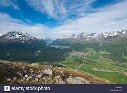 100 Muottas Muragl Switzerland Views Of Celerina And St Moritz From