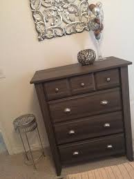 Sauder Shoal Creek Dresser Diamond Ash by Sauder Shoal Creek Nightstand Diamond Ash Walmart Com