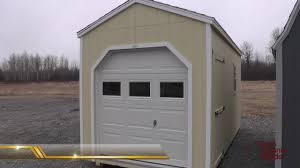 Titan Garages And Sheds by Sheds With Garage Doors Storage Sheds Motorcycle Atv Storage