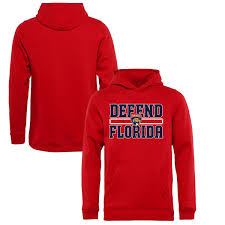 Fanatics Branded Red Florida Panthers Hometown Collection Defend