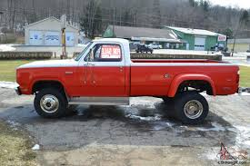 1975 Dodge 300, 4x4 Dually,