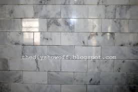 diy show marble subway tile back splash from start to