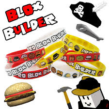 12 Blox Builder Bracelets Birthday Game Truck Party Favor Roblox