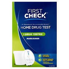 First Check Home Drug Test Marijuana Walmart