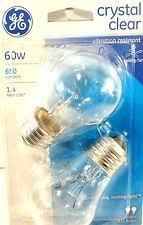 ge a15 60w light bulbs ebay