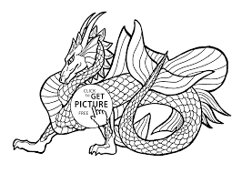 Dragon Coloring Pages For Free