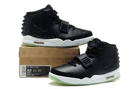 Nike Outlet by Outlet Nike Air Yeezy 2 Mens Shoes Black