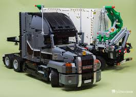The Mack Anthem Semi Truck Roars To Life With LEGO Technic Set 42078 ... Hans New Truck 8x4 With Detachable Lowloader Lego Technic And Lego Food Itructions Moc Semi Building Youtube City Scania La Remorqueuse De Camion 60056 Pictures To Pin On T14 Red Products Ingmar Spijkhoven Moc Box Wwwtopsimagescom The Mack Anthem Semi Truck Roars Life Set 42078 Cargo Tutorial Lego Cars Pinterest 60183 Great Vehicles Heavy Transport Playset Toy Custom Vehicle Download In Description Macks Team 8486 Cars