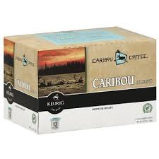 Caribou Coffee K Cups Blend Medium Roast
