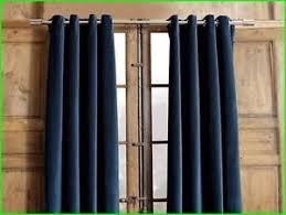 ikea merete navy blue window curtains 57x98 2 panels 100 cotton