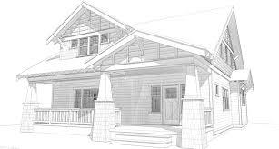 Craftsman Style Floor Plans Bungalow by Bungalow House Plans Bungalow Company