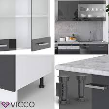 vicco küche r line 300 cm küchenzeile küchenblock