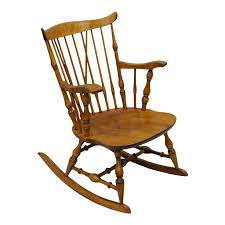 Colonial Traditional Vtg Nichols & Stone Maple Wood Windsor Rocking ... An Early 20th Century American Colonial Carved Rocking Chair H Antique Hitchcock Style Childs Black Bow Back Windsor Rocking Chair Dated C 1937 Dimeions Overall 355 X Vintage Handmade Solid Maple S Bent Bros Etsy Cuban Favorite Inside A Colonial House Stock Photo Java Swivel With Cushion Natural 19th Century British Recling For Sale At 1stdibs Wood Leather Royal Novica Wooden Chairs Image Of Outdoors Old White On A Porch With Columns Rocker 27 Kids