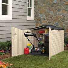 7x7 Shed Home Depot by Amazon Com Rubbermaid Outdoor Slide Lid Storage Shed 96 Cu Ft