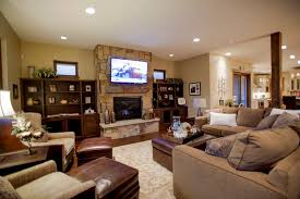 Decorating Family Room With Fireplace And Tv Ohio Trm Furniture