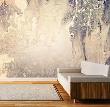 vlies tapete poster fototapete beton hell muster beige
