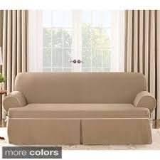 T Couch Slipcovers Furniture T Cushion Loveseat Slipcover Unique