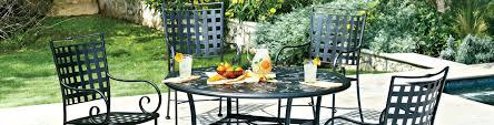 Vintage Wrought Iron Patio Furniture Woodard by Patio Ideas Black Wrought Iron 7 Piece Patio Set Wrought Iron