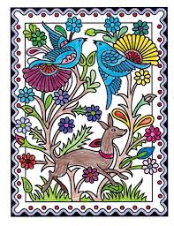 Lucas Under 12 Division From Mexican Designs Stained Glass Coloring Book