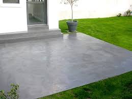 enduit beton cire exterieur dalle béton décorative enduit de parement sur une dalle en béton