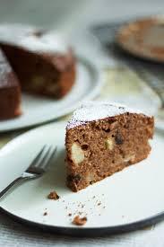 saftiger apfel schokoladenkuchen mit quittenlikör feines