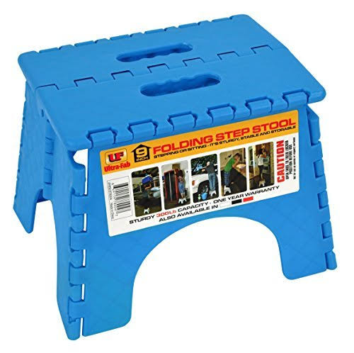 Ultra-Fab Step-9in Plastic Folding Blue