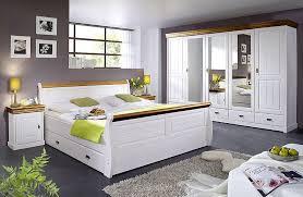 schlafzimmer weiss kiefer komplett massivholz möbel in