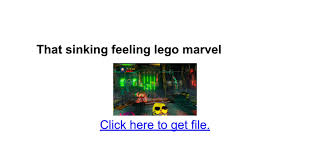 that sinking feeling lego marvel stan that sinking feeling lego marvel xbox 100 images lego marvel