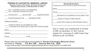 Huntington Library Membership Coupon, City Peoples Shop ...