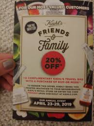 Kiehl's Friends & Family | 20% Off In-store, And Online ...