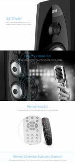 100 Bright Home Theater Hot Item T60X FloorStanding TV Bluetooth Speaker Remote 20 Tower