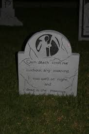 Diy Halloween Wood Tombstones by 220 Best Tombstones U0026 Cemeteries Images On Pinterest Halloween