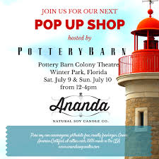 Join Us At Our Next Pop Up Shop At Pottery Barn, Winter Park ... Pottery Barn In Hensack Nj 07601 Citysearch Kids Baby Fniture Bedding Gifts Registry Daniel Stewart Ccommish Twitter Lulemon Archives Whats In Store Intertional Drive Shopping Orlando Outlet Malls I Spooky Style For All At The Mall Millenia The Em Famlia Pottery Barn Kids Uma Loja Incrvel De Criana Has A Cheesecake Factory 2014 Fl 32839
