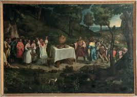 The Sacrifice Of Melchizedek