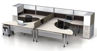 Modular fice Furniture Watson Fusion Dual Worksttion
