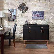 Impressing Black Buffet Server Of Sideboards Furniture Dining Room Modern