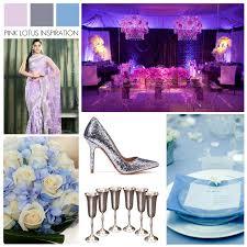 Purple Blue Silver Wedding Colors