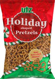 Utz Halloween Pretzels Nutrition Information by Utz Holiday Shaped Pretzels 14 0 Oz Walmart Com