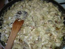 recette pate au creme fraiche supertoinette cèpes vin blanc crème fraîche
