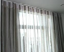 Black Sheer Curtains Walmart by Grey Sheer Curtains Eff Signature Grey Sheer Curtain Panel A Liked