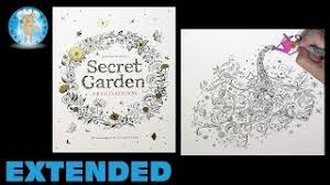 Secret Garden Artists Edition Adult Coloring Book Watering Can Extended