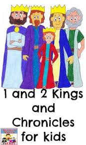 Kings And Chronicles Activities For Kids