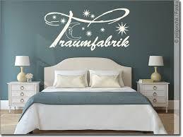 wandwort traumfabrik aufkleber fürs schlafzimmer