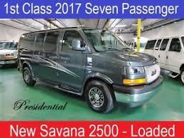 Image Is Loading 2017 GMC Savana Low Top Custom Conversion Van