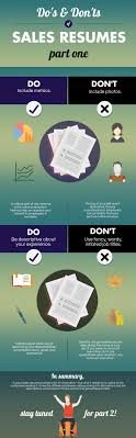 Do's And Don'ts Of Sales Resumes, Part 1 [Infographic ... How To Write A Resume 2019 Beginners Guide Novorsum Ebook Descgar Job Forums Valerejobscom 1 Basic Resume Dos And Donts Pdf Formats And Free Templates Tutorialbrain Build A Life Not Albatrsdemos The Dos Donts Writing Rockin Infographic Top Writing Tips Get An Interview Call Anatomy Of How Code Uerstand Visually Why You Should Go To Realty Executives Mi Invoice Format Donts Services For Senior Cv Guides Student Affairs