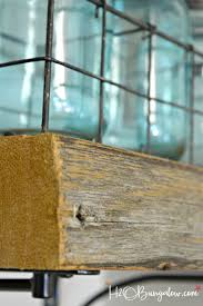 Reclaimed Wood Shelves Diy by Diy Reclaimed Wood Kitchen Shelves H20bungalow