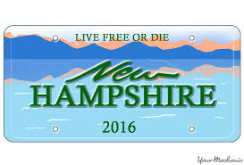 How to Buy a Personalized License Plate in New Hampshire