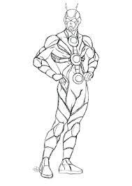Ant Man Coloring Pages 9 Sheets