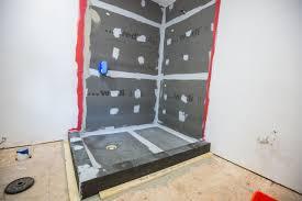 wedi waterproof shower system a concord carpenter
